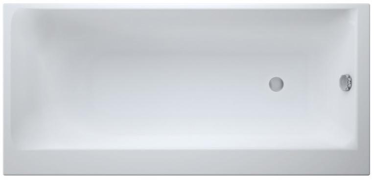 Акриловая ванна 170х80 см L Cersanit Smart WP-SMART*170-L акриловая ванна cersanit joanna 160х95 l белая