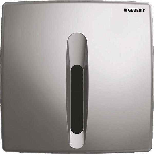 Система электронного управления смывом писсуара, питание от батарей Geberit Basic матовый хром 115.818.46.5