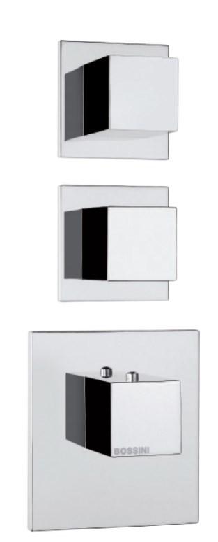 Наружняя часть термостата на 2 потребителя Bossini Outlets Z032203.030