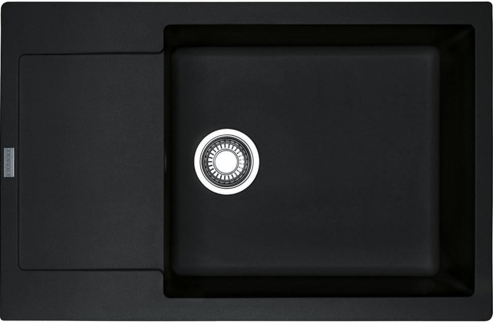 Кухонная мойка Franke Maris MRG 611D оникс 114.0369.154 кухонная мойка franke maris mrg 651 98 миндаль