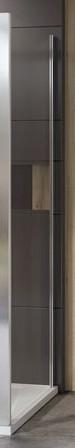 Купить со скидкой Боковая стенка 90 см Ravak 10° 10PS 9UV70U00Z1 сатин прозрачное