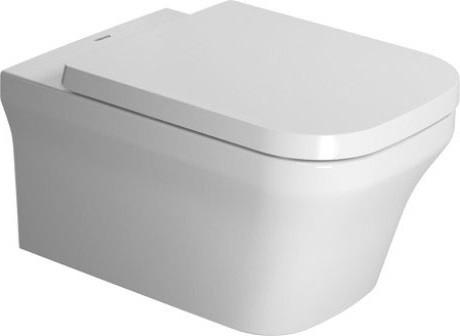 Подвесной безободковый унитаз Duravit P3 Comforts 2561090000 акриловая ванна 180х80 см duravit p3 comforts 700377000000000