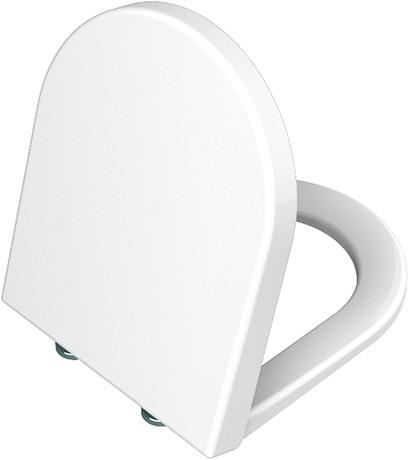 Крышка-сиденье с микролифтом Vitra S50 801-003-009 vitra s50 сиденье для унитаза микролифт белый 72 003 309