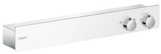 Фото - Термостат для 2 потребителей Hansgrohe ShowerTablet 600 13108400 термостат для ванны hansgrohe showertablet 600 13109400