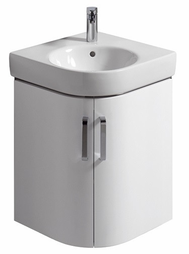 Тумба белый матовый/белый глянец 69 см Keramag Renova Nr.1 Comprimo New 862150000