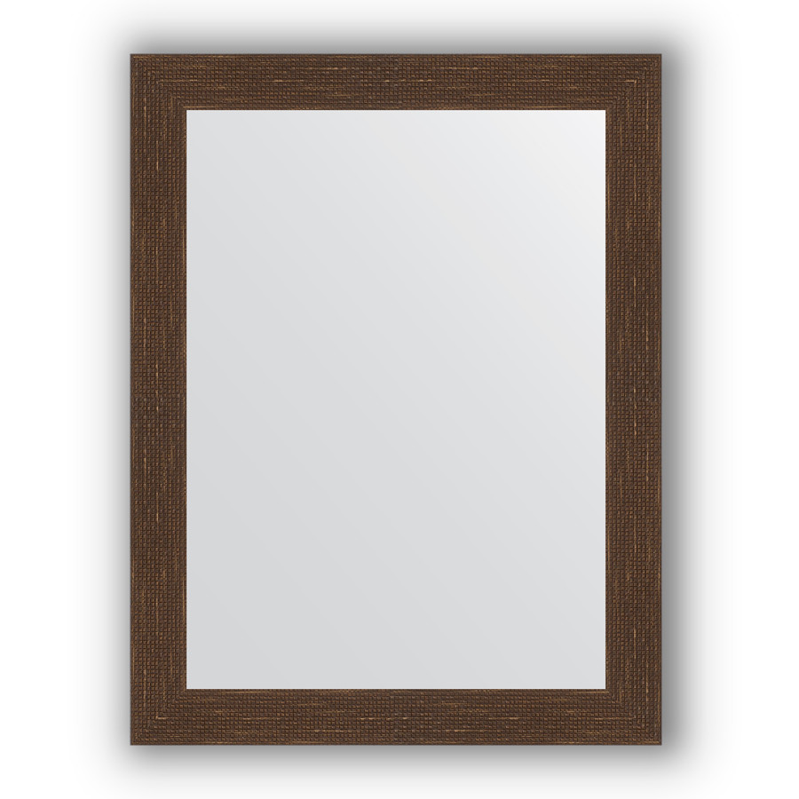 Зеркало 66х86 см мозаика античная медь Evoform Definite BY 3177 зеркало evoform definite 146х56 мозаика античная медь