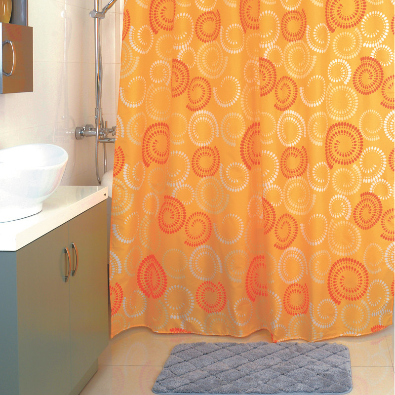Штора для ванной комнаты Milardo Holiday Rounds 860P180M11 цены онлайн