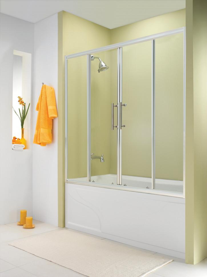 Шторка для ванны 150 см Esbano ES-1415 прозрачное шторка для ванны 150 см esbano es 1415 прозрачное