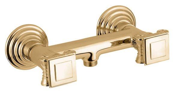 Смеситель для душа золото 24 карата, ручки металл Cezares Olimp OLIMP-DS-03/24-O смеситель для душа cezares olimp olimp ds 02 o