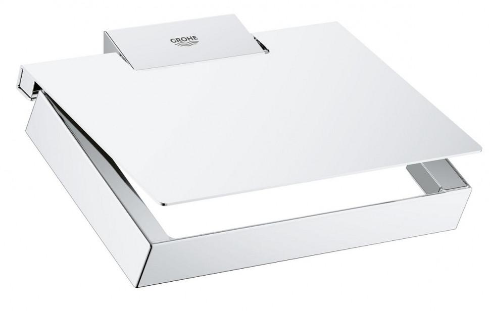 Фото - Держатель туалетной бумаги Grohe Selection Cube 40781000 полотенцедержатель 60 см grohe selection cube 40807000