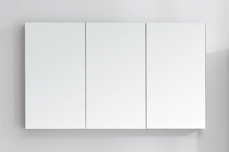 Зеркальный шкаф с нижней подсветкой 120х70 см BelBagno SPC-3A-DL-BL-1200 зеркальный шкаф vigo mirella 80 с подсветкой белый