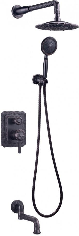 Душевой комплект Lemark Jasmine LM6622ORB