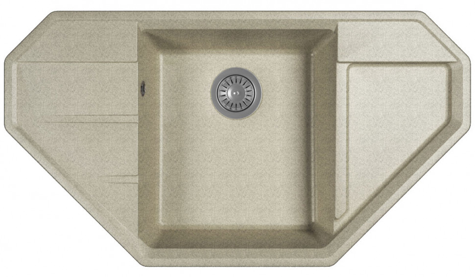 Кухонная мойка Bamboo Крона серый 29.040.D0910.408