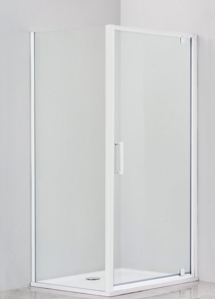 Душевой уголок 100х80 см Cezares RELAX-AHA-1-100/80-C-Bi прозрачное