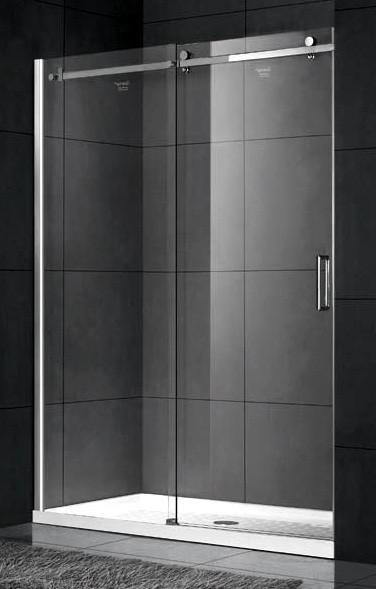 Душевая дверь 140 см Gemy Modern Gent S25191AL прозрачное