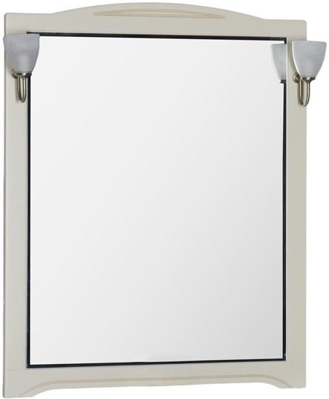 Зеркало 90х112 см бежевый Aquanet Луис 00173219