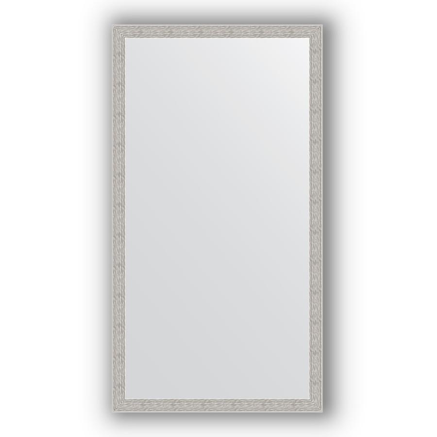 Зеркало 71х131 см волна алюминий Evoform Definite BY 3294 зеркало evoform definite 74х54 алюминий