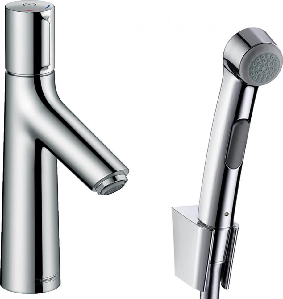 Смеситель для раковины с донным клапаном с гигиеническим душем Hansgrohe Talis Select S 72291000 смеситель для раковины hansgrohe talis select s 72044000