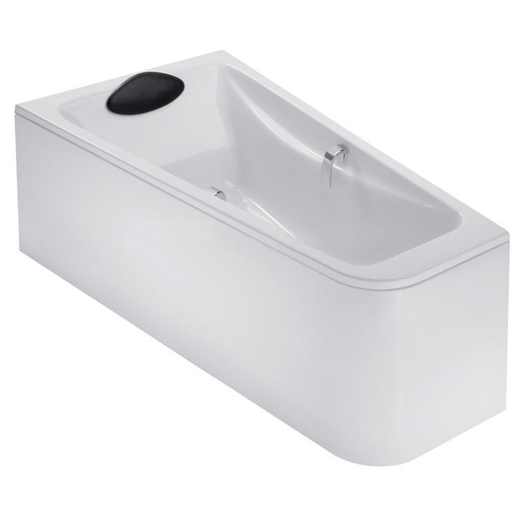 Акриловая ванна левосторонняя 160х90 Jacob Delafon Odeon Up E6065RU-00 акриловая ванна jacob delafon domo e60223 00 135x135