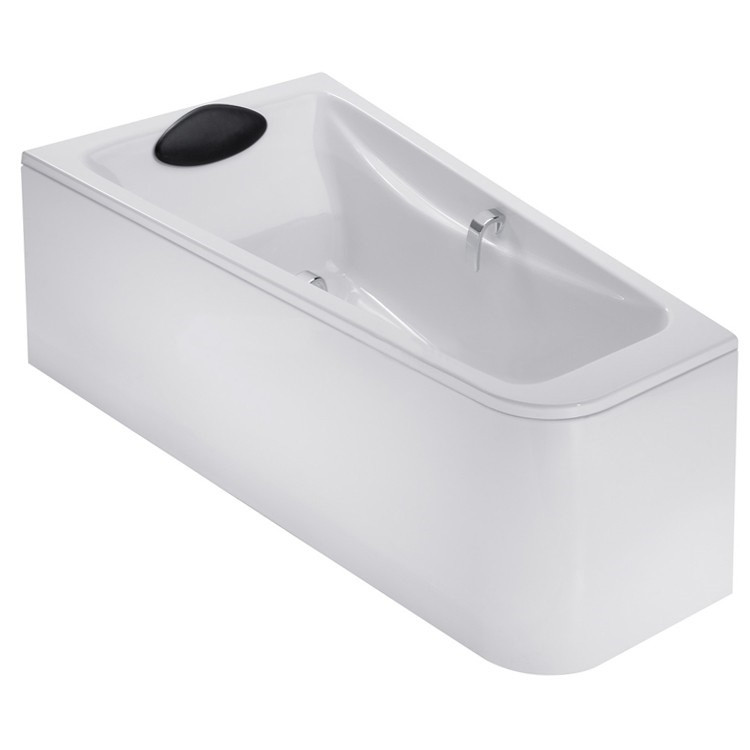 Акриловая ванна левосторонняя 160х90 Jacob Delafon Odeon Up E6065RU-00 акриловая ванна 140х140 jacob delafon odeon up e6070ru 00