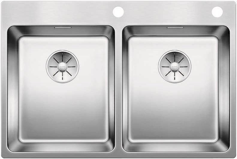 Кухонная мойка Blanco Andano 340/340-IF/A InFino зеркальная полированная сталь 522997