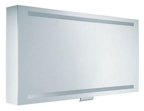 Зеркальный шкаф с люминесцентной подсветкой 125х65 см KEUCO Edition 300 30202171201 зеркальный шкаф vigo kolombo 80 с подсветкой серый