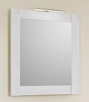 Зеркало 70х80 см с подсветкой сосна беленая Aqwella 5 Stars Symphony Sim.02.07/SB зеркало aqwella 5 stars simphony sim 02 07 ds