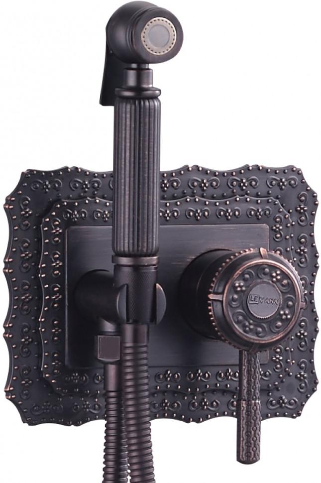 Встраиваемый смеситель с гигиеническим душем Lemark Jasmine LM6619ORB встраиваемый смеситель с гигиеническим душем lemark jasmine lm6619orb