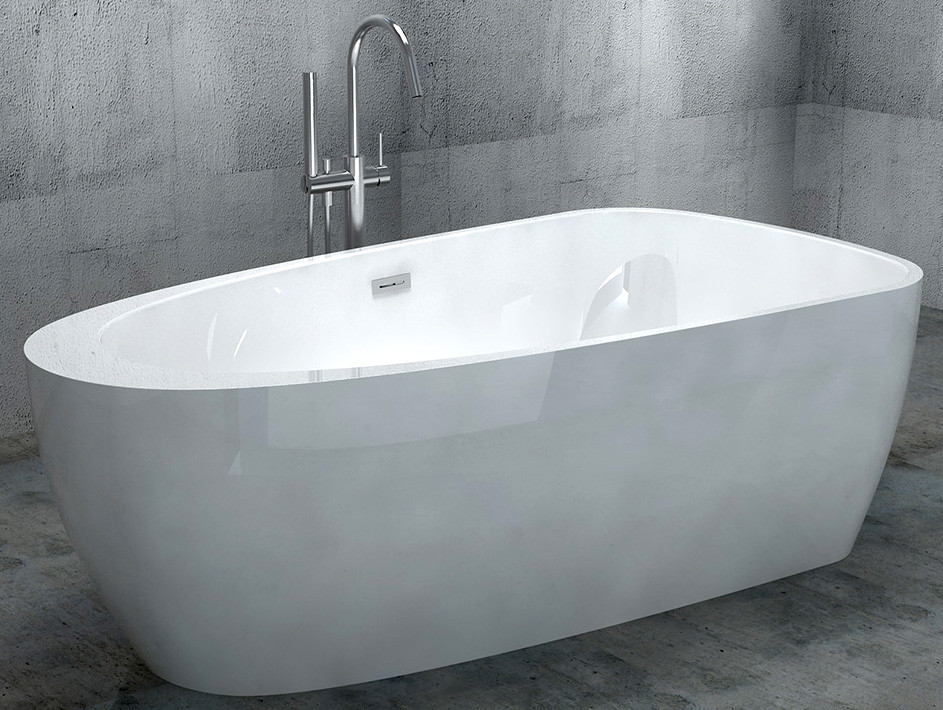 Акриловая ванна 170х90 см Gemy G9210 акриловая ванна gemy g9245