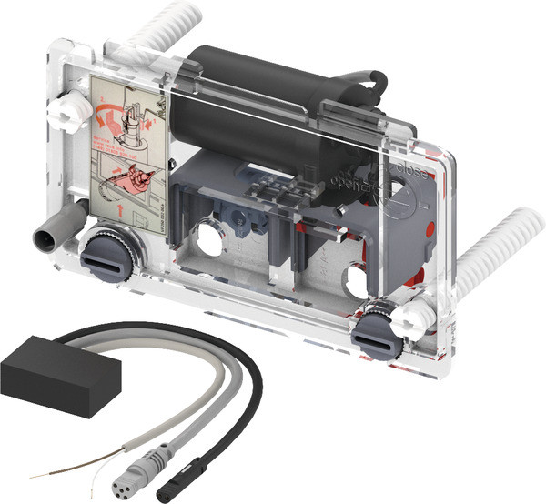 Механизм дистанционной активации смыва унитаза для проводных электронных кнопок, питание от сети 12 В Tece TECEplanus 9240357 фото