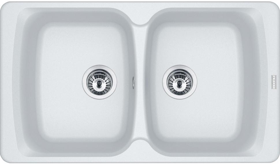 Кухонная мойка Franke Antea AZG 620 белый 114.0489.278 фото