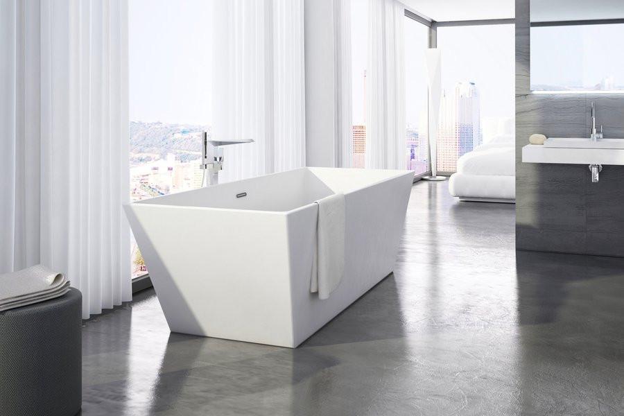 Акриловая отдельностоящая ванна Freedom R 1750x750 мм Ravak XC00100021