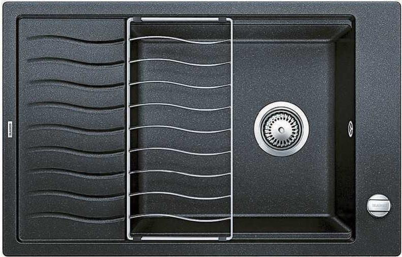 Кухонная мойка Blanco Elon XL 6 S-F антрацит 519510 кухонная мойка blanco elon xl 6 s антрацит