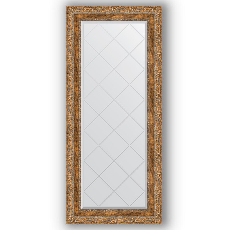 Фото - Зеркало 55х125 см виньетка античная бронза Evoform Exclusive-G BY 4058 зеркало 75х130 см виньетка античная бронза evoform exclusive g by 4230