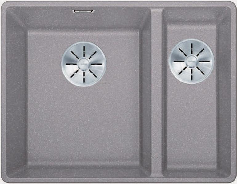 Кухонная мойка Blanco Subline 340/160-F InFino алюметаллик 523570