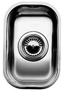 Фото - Кухонная мойка Blanco Supra 180-U полированная сталь 518197 кухонная мойка blanco supra 450 u 518203