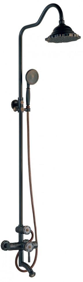 Душевая система Lemark Jasmine LM6662ORB недорго, оригинальная цена
