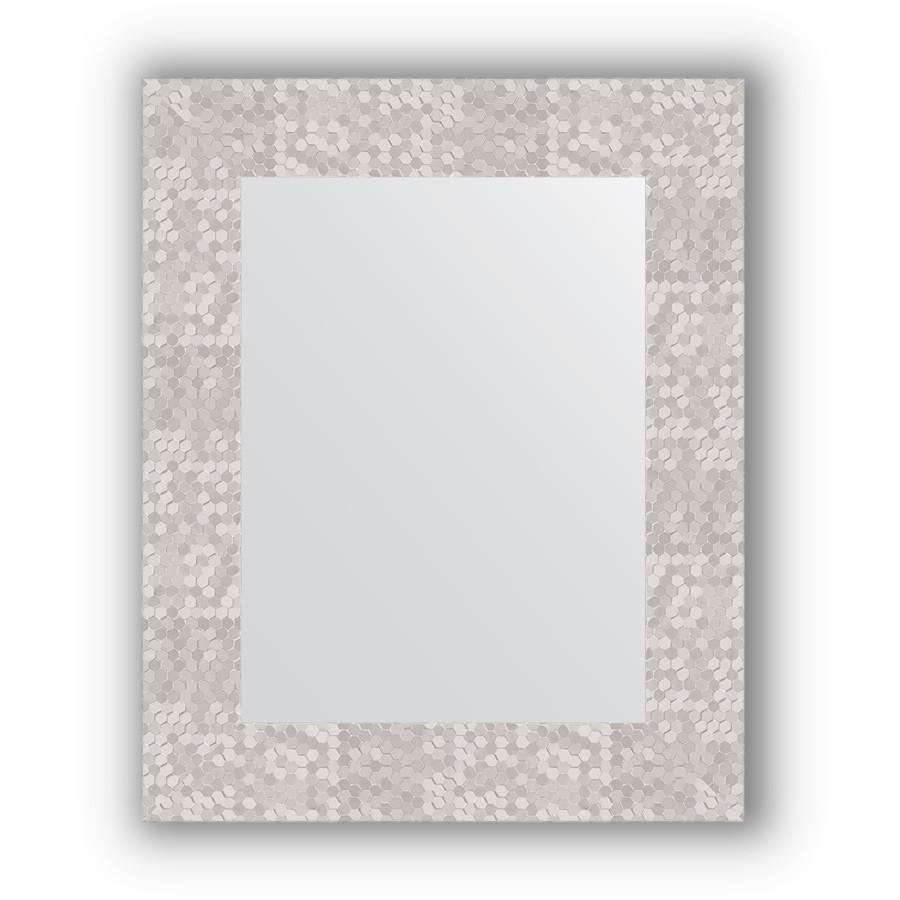 Зеркало 43х53 см соты алюминий Evoform Definite BY 3019 зеркало evoform definite floor 197х108 соты алюминий