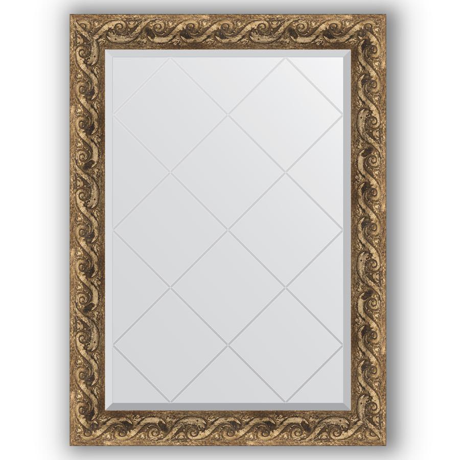 Зеркало 76х103 см фреска Evoform Exclusive-G BY 4184 зеркало evoform exclusive g 185х131 фреска