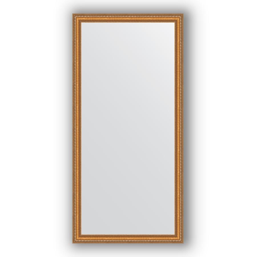 Зеркало 75х155 см золотые бусы на бронзе Evoform Definite BY 3330 зеркало evoform definite 155х75 золотые бусы на бронзе