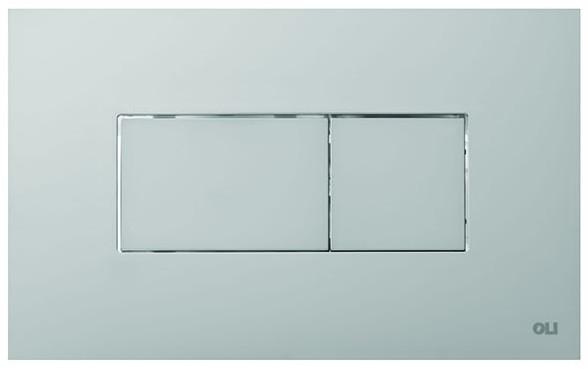 Смывная клавиша OLI Karisma матовый хром 641006