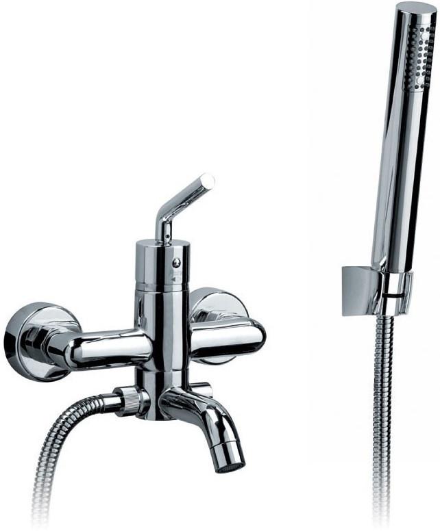 Смеситель для ванны Paini Pixel New 81CR100NEWKM термостат для ванны paini lady 89op105thkm