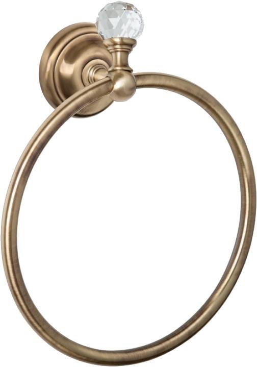Полотенцедержатель бронза Tiffany World Crystal TWCR015br-sw