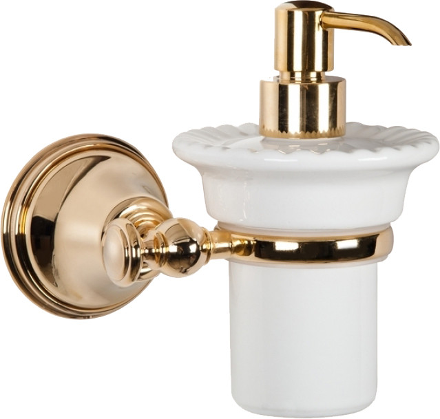Дозатор жидкого мыла золото Tiffany World Harmony TWHA108oro дозатор д жидкого мыла ofelis harmony