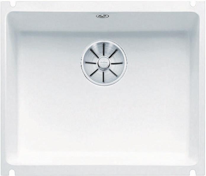 Кухонная мойка Blanco Subline 500-U InFino глянцевый белый 523733 кухонная мойка blanco subline 500 u 514506