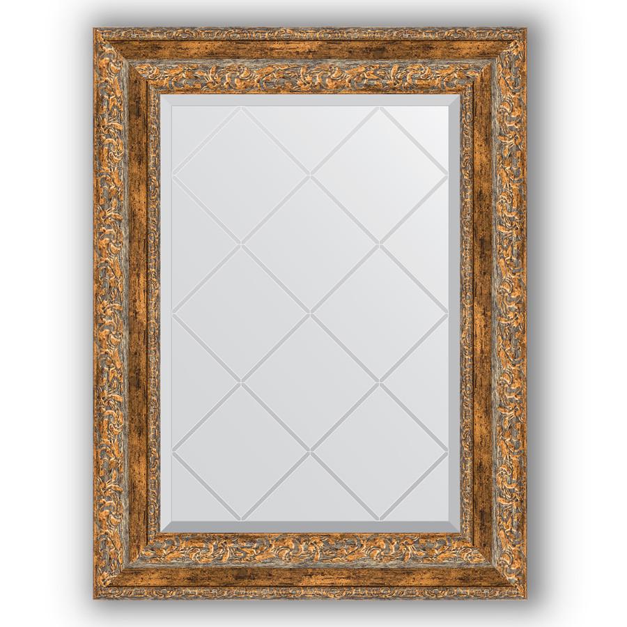 Зеркало 55х72 см виньетка античная бронза Evoform Exclusive-G BY 4015