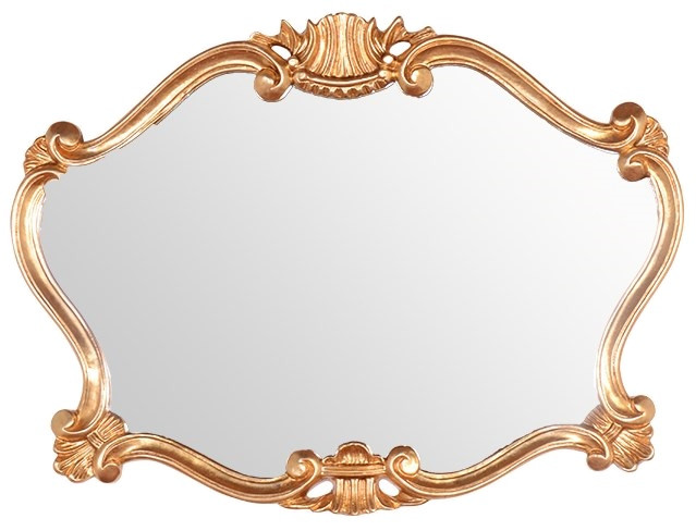 Зеркало 91х70 см золото Tiffany World TW02031oro цена 2017