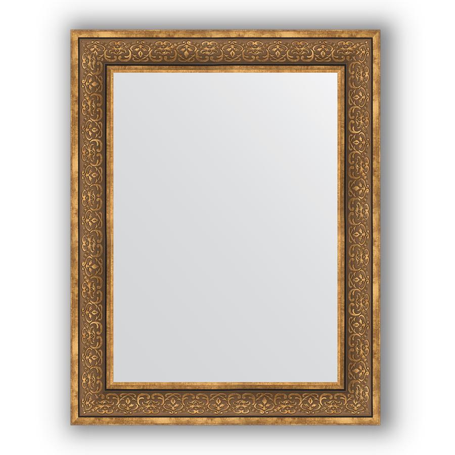 Зеркало 73х93 см вензель бронзовый Evoform Definite BY 3191 зеркало evoform definite 153х63 вензель бронзовый