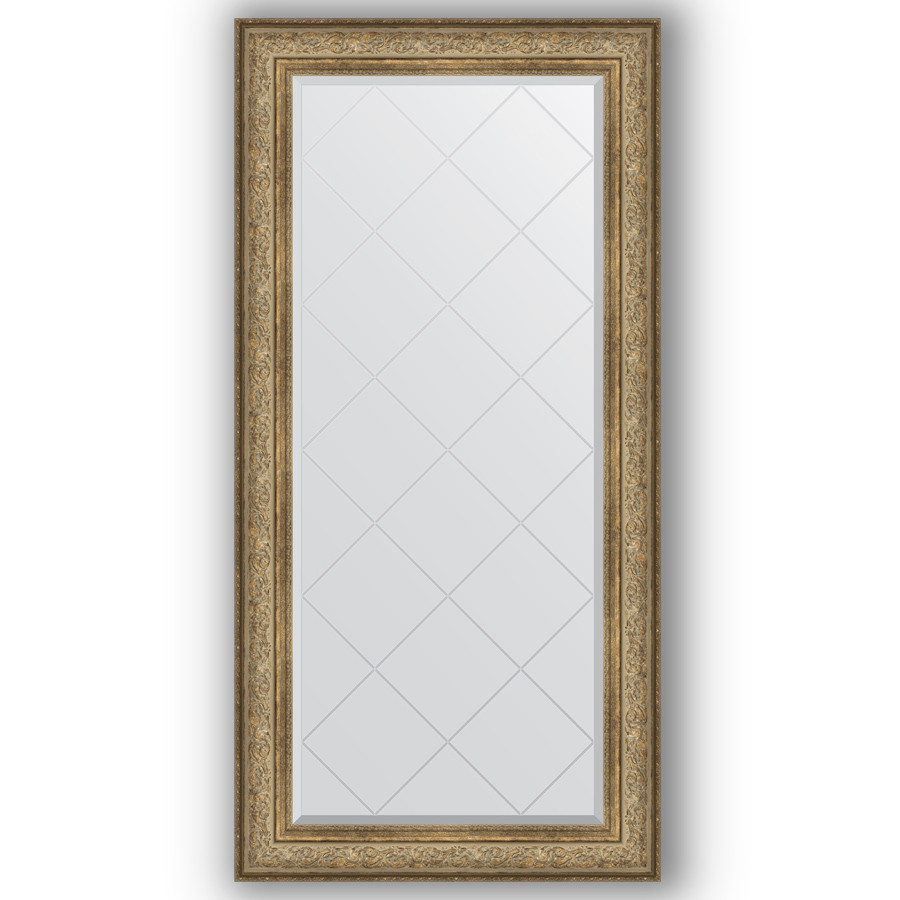 Фото - Зеркало 80х162 см виньетка античная бронза Evoform Exclusive-G BY 4296 зеркало 75х130 см виньетка античная бронза evoform exclusive g by 4230