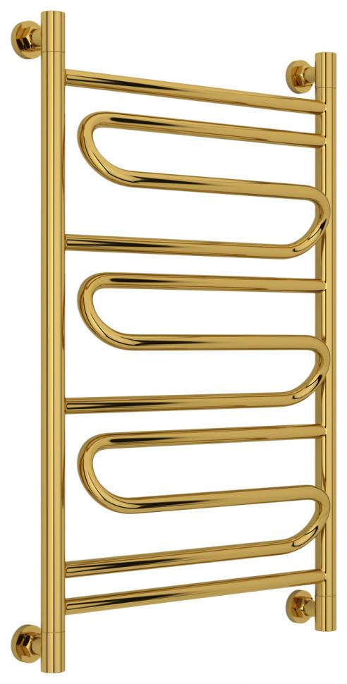 Полотенцесушитель водяной 800х500 золотой Сунержа Элегия+ 03-0205-8050